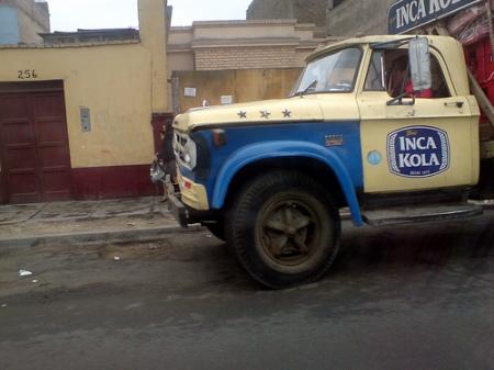 inca kola truck